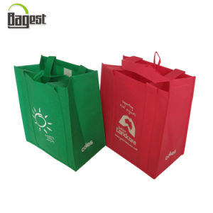 Cheap Promotional Printed Non Woven Tote Shopping Bag pictures & photos