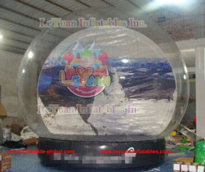 Leyuan Christmas Inflatable Snow Globe 5m