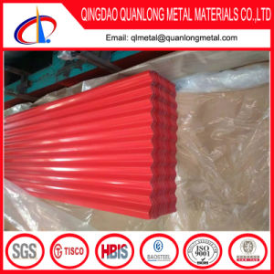 PPGI PPGL Corrugated Colored Steel Roofing Sheet pictures & photos