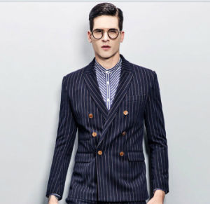 Made to Measure Stripe Formal Best Suit for Men pictures & photos