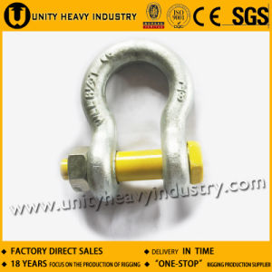 G 2130 U. S Bolt Safety Type Drop Forged Anchor Shackle