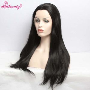 Long Straight Synthenic Wig Natural Color Synthetic Wigs Wholeslale pictures & photos