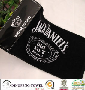 100% Cotton Yarn Dyed Jacquard Bar Towel Df-9819 pictures & photos