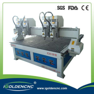 Double Heads CNC Drilling Machine 1325 pictures & photos