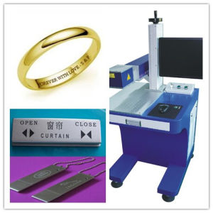 Professional Metal Fiber Laser Marking Machine for Logo, Dates, iPhone/Apple, Rings