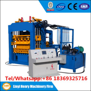 Qt4-15 Automatic Hydraulic System Hollow Bricks Blocks Making Machines Dubai Paver Block Machine pictures & photos