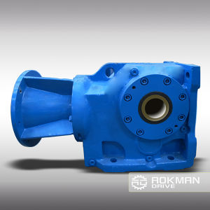 Good Performance K Series Helical Bevel Gearbox pictures & photos