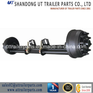 Concave Type Axle/Low Bed Axle/Semi Trailer Axle pictures & photos