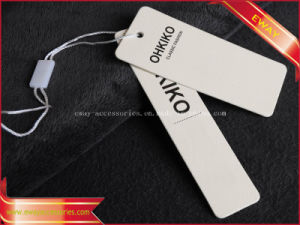 White Paper Hang Tag Men Clothing Swing Tag pictures & photos