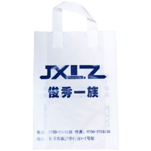 Loop Handle Bag/Plastic Packing Bag/Shopping Bag/Gaement Bag pictures & photos
