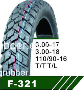 Motorcycle Tire 3.00-17 3.00-18 4.10-18 110/90-18 110/90-17 pictures & photos