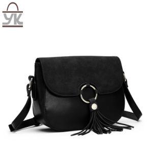 Contrast Color Fashion Lady′s Designer Leisure Shoulder Handbags pictures & photos
