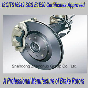 ISO/Ts16949 Certificates Approved Auto Brake Rotors pictures & photos