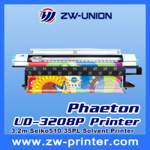 Phaeton Large Format Plotter Ud-3208p, with 8 Seiko 510/35pl Head
