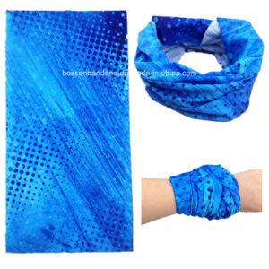 Factory Produce Custom Logo Polyester Microfiber Neck Tubular Infinity Scarf pictures & photos