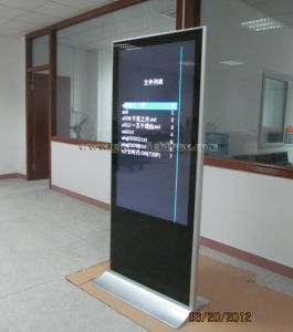 Self-Standing Advertising LCD Screen Player pictures & photos
