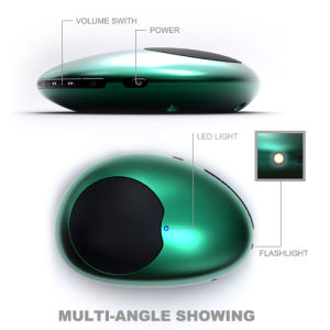 Portable TF Card Speaker (CS66-green)