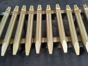 Various High Intensity Rock Chisels Used in Hydraulic Breaker Hammer pictures & photos