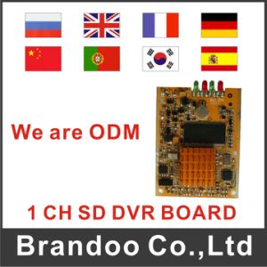 Factory Sale 1 Channel SD DVR Module, Support OEM/ODM, Language Customized pictures & photos