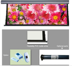 "120"" 150 Inch Electric Motorised Projector Screen for Home Cinema 4: 3 16: 9 Projection pictures & photos"