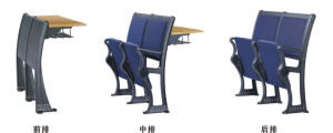 Comfortable Aluminium Frame Student Chair with Cushion (YA-012) pictures & photos