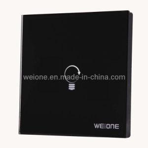 OEM/ODM RF Radio Frequency Tempered Glass 1 CH Remote Control RF Switch