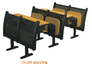 Good Quality Student Desk with Folded Chair (YA-005) pictures & photos