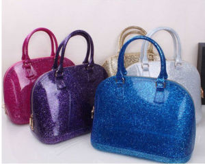 Yiwu Supplier Designer Eco-Friendly Jelly Candy Hand Bag