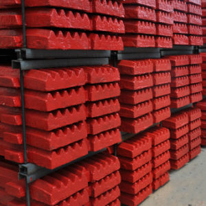 High Manganese Steel Jaw Plate