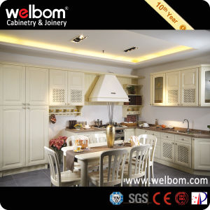 2015 New Welbom Luxury Cherry Wood Kitchen Cabinet pictures & photos