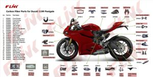 Motorycycle Carbon Fiber Parts for Ducati Panigale 1199 pictures & photos