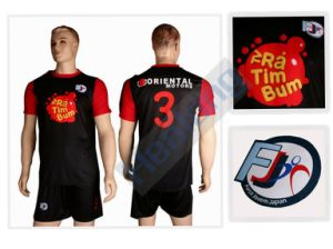 Dropship Embroidery Youth Team Soccer Uniform pictures & photos