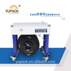 Double Motor Semi-Automatic Strapping Machine with PCB Control pictures & photos