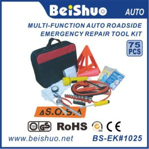 75PCS Car Emergency Tool Kit/Auto Emergency Kit with Good Quality pictures & photos