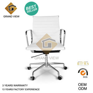 White Leather Modern Lift Recliner Visitor Chair (GV-EA117) pictures & photos
