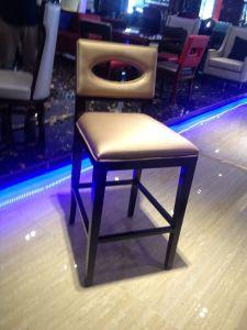 Bar Chair/Hotel Bar Area Furniture/Bar Table and Bar Stool/Bar Stool for Night Club (GLBSD-001) pictures & photos