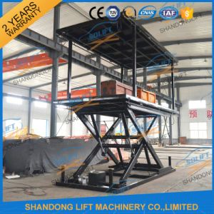 3m Double Layers Hydraulic Lift Double Parking Car Lift pictures & photos