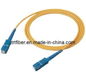 SC/UPC-SC/UPC SM SX Fiber Optical Patch Cord (SC fiber jumper) pictures & photos