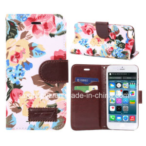 Fashion Flower Canvas and PU for iPhone 6 Case (KCI31-2) pictures & photos