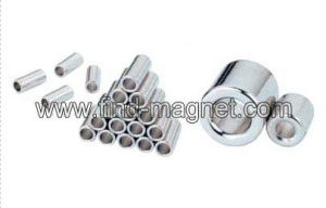 Deep Hole Thin Wall Cylinder SmCo Magnet pictures & photos