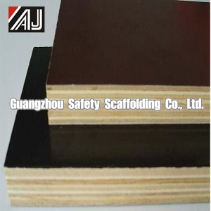 Water-Proof Film Faced Shuttering Plywood, Guangzhou Factory pictures & photos