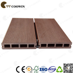 150*35mm Hollow Decking High Quality Engineered Wood Plastic Composite Flooring (TW-K01) pictures & photos
