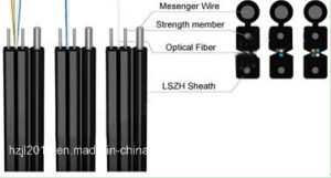FTTH Indoor Fiber Optic Cable pictures & photos