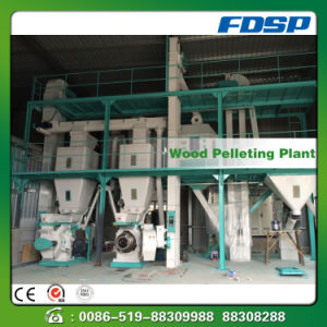 Competitive Price Wood Sawdust Pellet Production Line pictures & photos