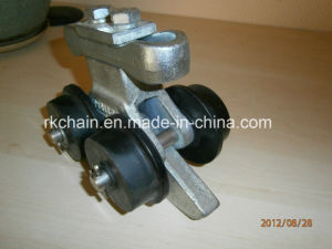 Forged Bracket Chain Trolley with 4 Plastic Wheels for Conveyor pictures & photos