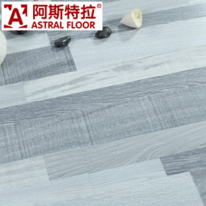Deep Eir Natural Wood Grain Gery Color Laminate Flooring pictures & photos