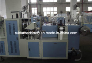 Paper Cup Machine with Online Handle Applicator (EBZT-12) pictures & photos