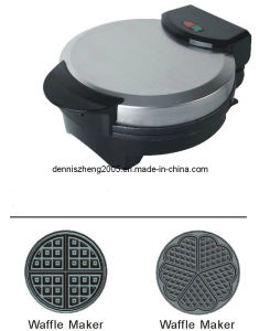 Electric Waffle Maker, Round Heart Shaped Belgian Waffle Maker Machine pictures & photos
