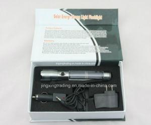 Hot High-Quality Aviation Aluminum Alloy Solar Flashlight (JX-SF008) pictures & photos