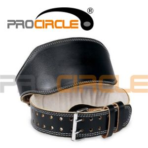 High Quality Foam Padded Leather Weightlifting Belt (PC-WB1004) pictures & photos